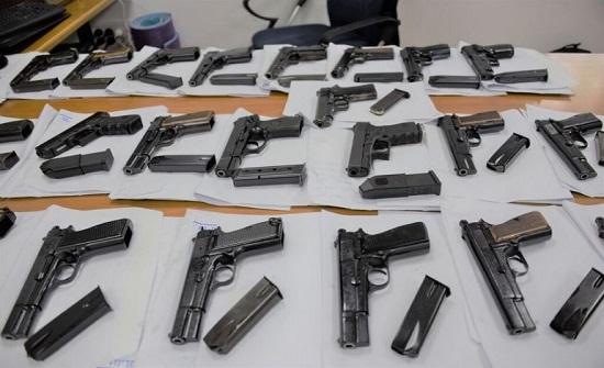 القبض على 79 شخصا خلال حملة امنية ضد الاسلحة