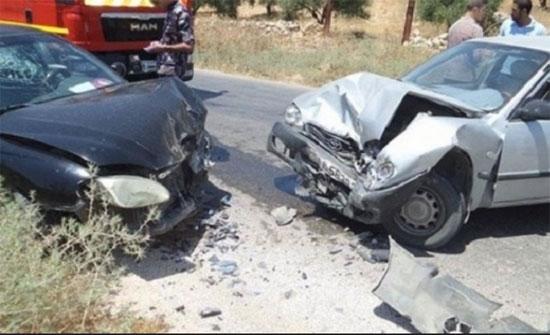10 إصابات اثر حادثي سير منفصلين في الزرقاء واربد