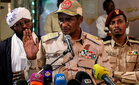 """الوسيط الإثيوبي يصل الخرطوم وحميدتي يلتقي """"نداء السودان"""""""