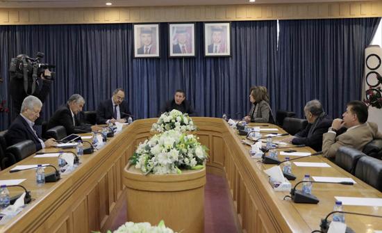 """""""لجنة فلسطين"""" في الأعيان تُثمن الجهود الملكية بشأن القضية الفلسطينية"""