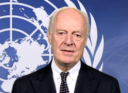 دي ميستورا يدعو الأطراف السورية لحضور مباحثات السلام في فينا
