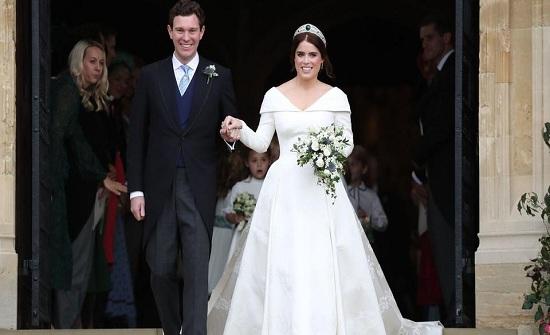 بالصور : من كانت الأكثر أناقةً في حفل زفاف الأميرة أوجيني؟