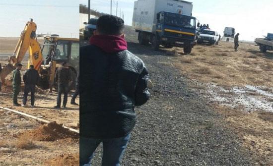 ضبط اعتداء جديد على المياه في سحاب يزود مزرعة دواجن