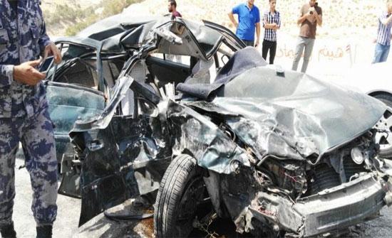 وفاة وإصابات اثر حادث تصادم مروع في الزرقاء