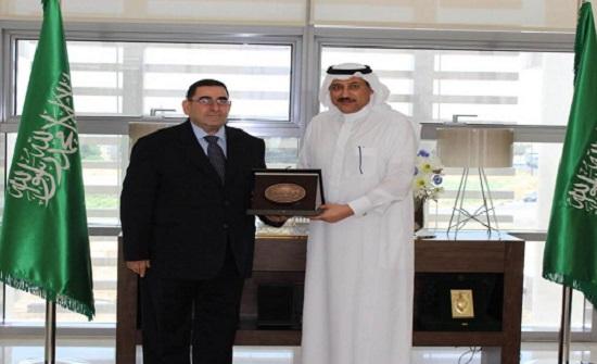 السفير السعودي يلتقي رئيس لجنة الشؤون الخارجية بمجلس النواب