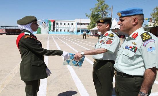 مدرسة سلاح الهندسة الملكي تحتفل بتخريج دورة الجنود المستجدين