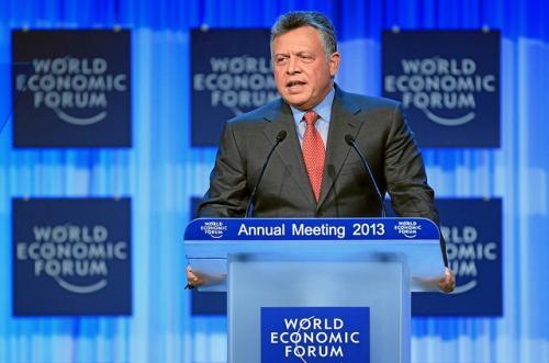 الملك يفتتح المنتدى الاقتصادي العالمي