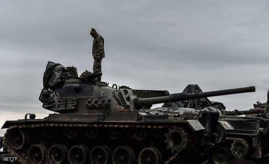 """عملية عفرين.. """"الجيش الحر"""" يتقدم بدعم تركي"""