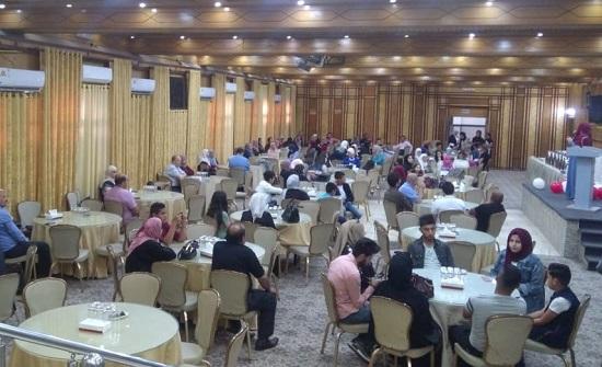 مهندسو اربد يقيمون حفل افطار لذوي المهندسين المتوفين