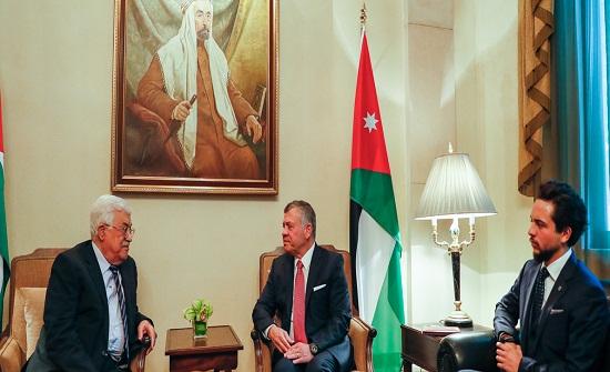الملك يلتقي عباس لبحث قرار ترامب - تفاصيل