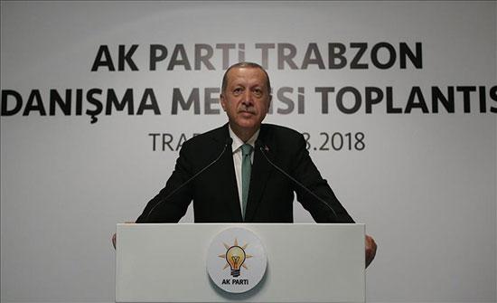 """أردوغان: نقول لمن يفرط في شراكتنا الاستراتيجية """"مع السلامة"""""""