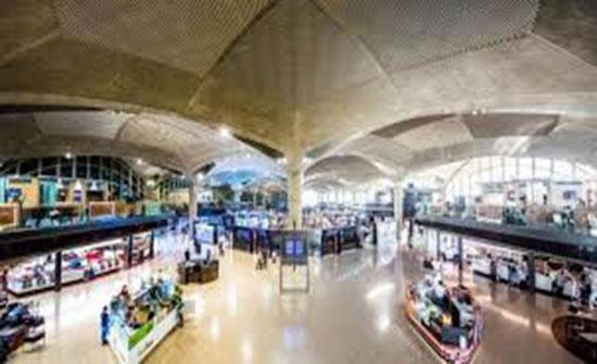 مطار الملكة علياء يستقبل أكثر من 583 الف مسافر