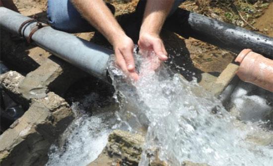 تركيب 6500 عداد مياه جديد في البادية الشمالية الشرقية