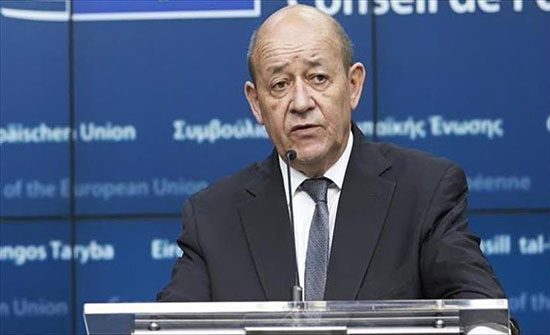 """لودريان: فرنسا تتابع """"باهتمام"""" الوضع في الجزائر"""