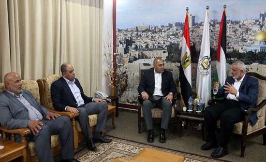الوفد الأمني المصري يغادر قطاع غزة بعد انتهاء اجتماعه مع قادة حماس