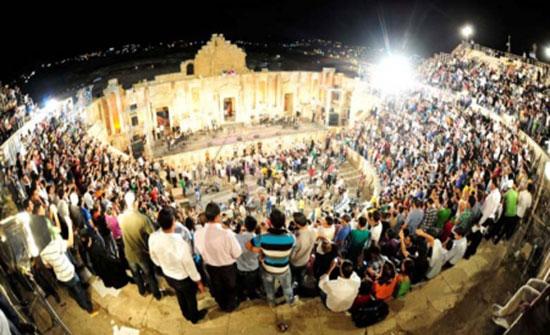 مهرجان جرش للثقافة والفنون على عتبة آمال رحبة