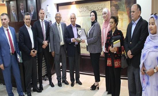 وفد برلماني مغربي يطلع على تقدم الصناعة الأردنية