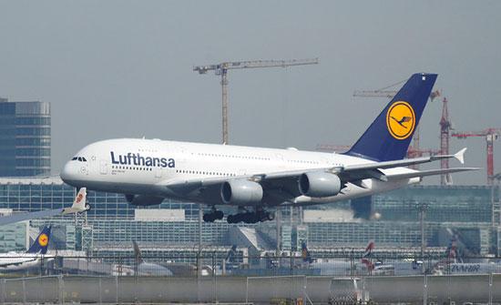 """الخطوط الجوية الألمانية """"لوفتهانزا"""" تعلن وقفا فوريا لرحلاتها إلى القاهرة"""