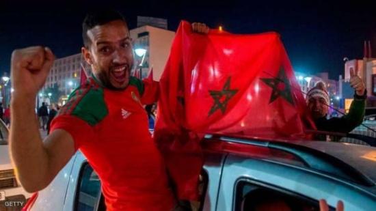 """المغرب.. أنصار """"أسود الأطلس"""" يحلمون بإنجاز تاريخي"""