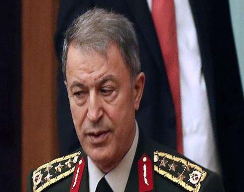 رئيس الأركان التركية: لن نسمح بتسليح الأكراد في سوريا