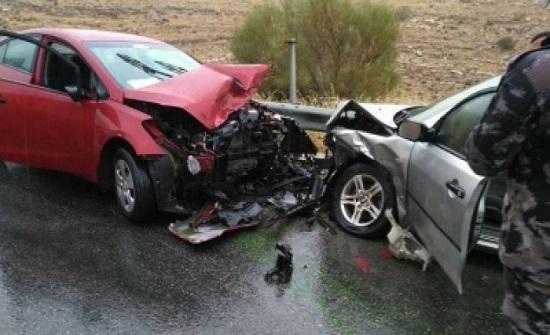 4 اصابات بحادثي سير في عجلون