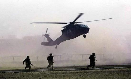 تحطم مروحية عسكرية أميركية في أفغانستان