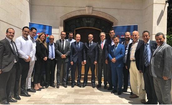 رئيس الوحدة الفنية لاتفاقية اغادير يلتقي وفدا اقتصاديا تونسيا
