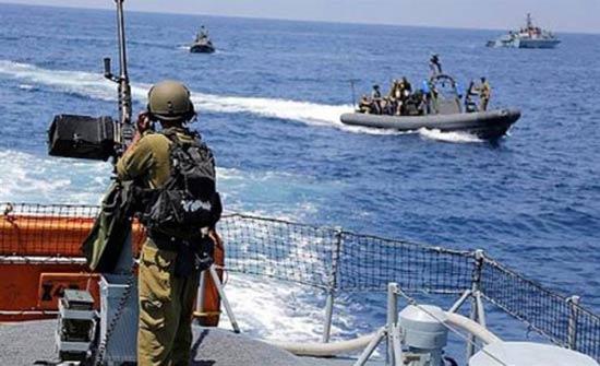 قوات الاحتلال تعتقل صيادين في بحر شمال قطاع غزة