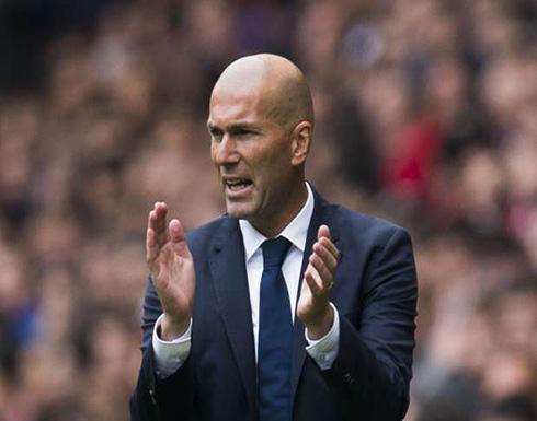 زيدان يحشد قوة ريال مدريد الضاربة لحسم الليجا