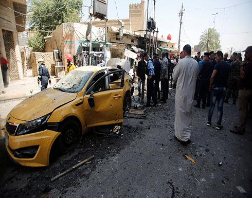 قتلى وجرحى في تفجير انتحاري بالعاصمة بغداد (شاهد)