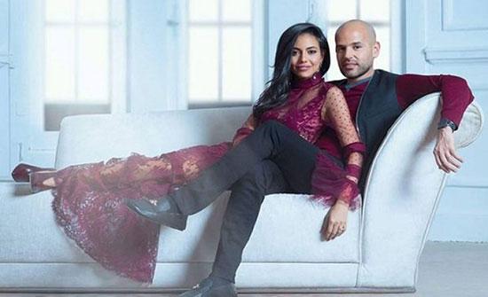 """زوجة الفنان """"أبو"""" حامل بمولودهما الأول – (صور)"""
