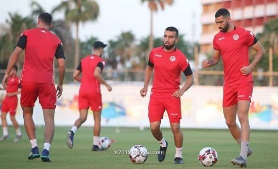 تدريبات تونس تكشف ملامح تشكيل مباراة غانا