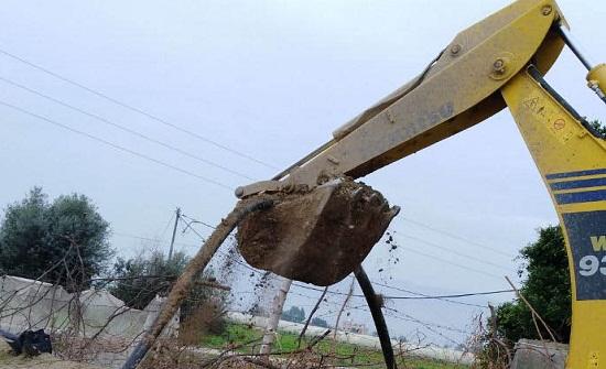 ضبط اعتداءات جديدة على قناة الملك عبدالله
