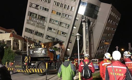 ارتفاع عدد ضحايا زلزال تايوان إلى 6 قتلى و256 مصابا