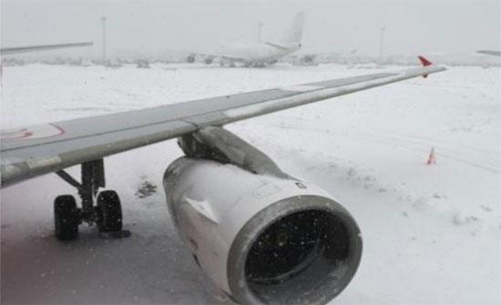 بعثة الفيصلي عالقة في مطار طشقند بسبب الثلوج