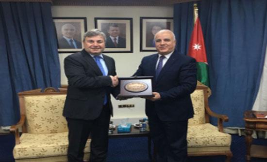 سفير تركيا يلتقي رئيس واعضاء لجنة الصداقة البرلمانية الأردنية التركية