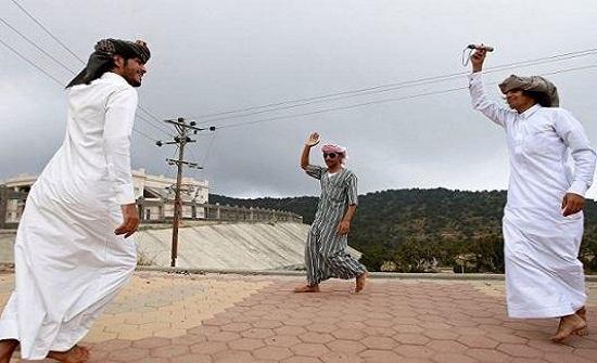 رقصة محرمة بالسعودية