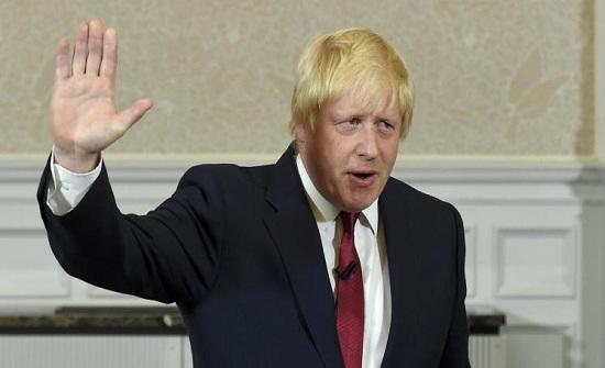 جوارب مرشح رئاسة وزراء بريطانيا بوريس جونسون تثير الجدل (صور)