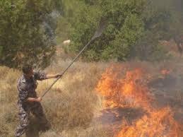 إخماد حريق أعشاب جافة في اربد ولا إصابات