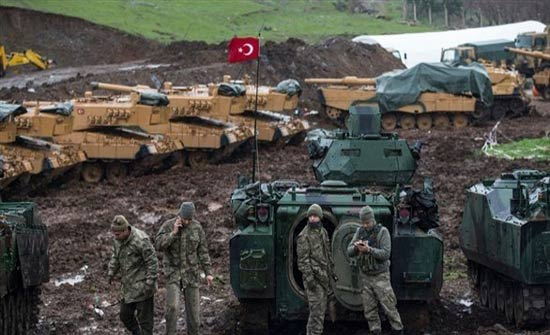 سوريا: قصف تركي مكثّف لتأمين توغل بري في عفرين