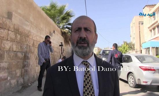 العضايلة يوضح حول انتشار مقابلة له على تلفزيون اسرائيلي