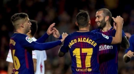 """روما يسعى لخطف لاعب برشلونة """"المنبوذ"""""""