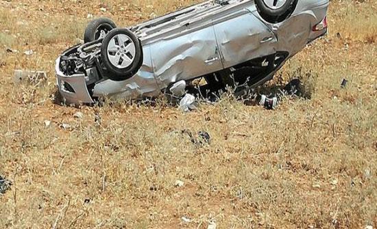 وفاة شخص وإصابة آخر اثر حادث تدهور في العاصمة