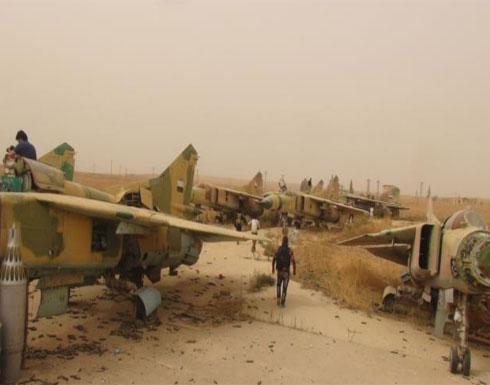 النظام يهاجم مطارا إستراتيجيا بإدلب ويقصف الغوطة