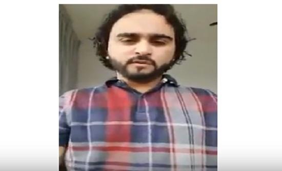 """بالفيديو .. رسالة من مواطن يمني للاردنيين : """" اعتبروا من اللي صار فينا """""""