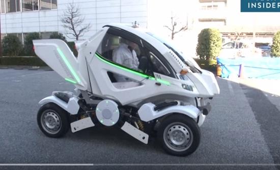 سيارة يابانية قابلة للطي - فيديو