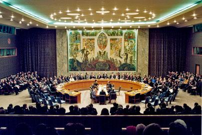 جلسة دورية لمجلس الامن حول القضية الفلسطينية الاربعاء