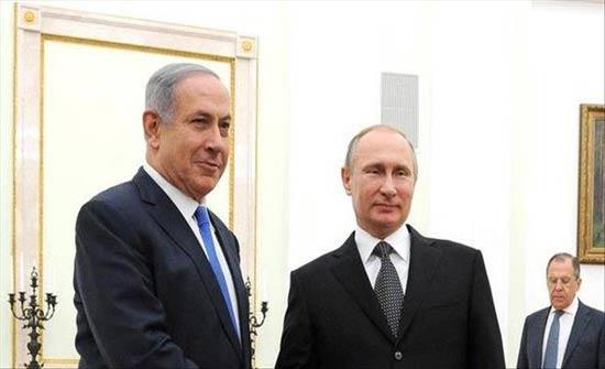 نتنياهو يبحث مع بوتين النشاط الإيراني في سوريا ولبنان
