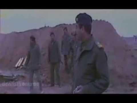 بالفيديو .. صدام يضحك وهو يقصف اسرائيل