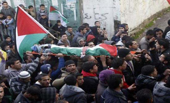 استشهاد فلسطيني في غزة